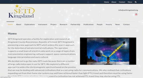 image of seti kingsland website